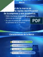 DISEÑO DEL PRODUCTO - LA MARCA
