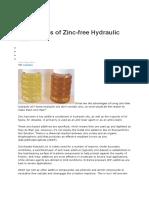 Advantages of Zinc