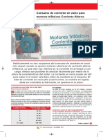 75_14 Motortico. Consumo de corriente en vacío para motores trifásicos Corriente Alterna..pdf
