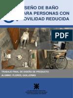 Diseño de baño para personas con movilidad reducida - Flores Guillermo