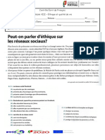 Test Mod 8 -12 Francês (Continação)