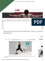 Nueva Operación Transformer_ Fase 1, Entrena Sin Gimnasio _ Transformer