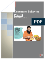 Consumer Behaviour & Branding of Patanjali.docx