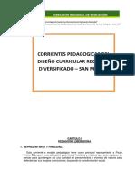 Corrientes Pedagogicas Work