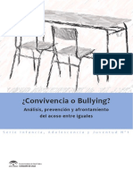 ¿Convivencia o Bullying?