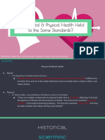 physical vs mental health