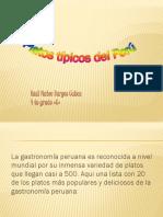 Platos Tipicos Del Perú