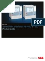 1MRK504161-BEN a en Product Guide Transformer Protection RET650 2.1