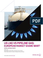 Sr Us Lng Pipeline Gas European Market Share
