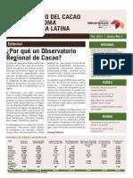 Boletín 1_Observatorio Cacao Fino de Aroma