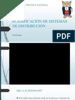 Planificación de Sistemas de Distribución