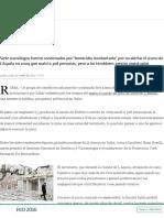 Seis Años de Prisión a Científicos Italianos Por No Predecir Un Terremoto - 22.10