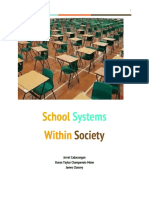 School Systems Within Society