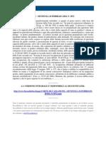 Fisco e Diritto - Corte Di Cassazione n 3872 2010