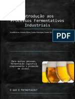 Introdução Aos Processos Fermentativos Industriais