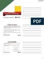 6. Correlacion y Regresion Lineal 201730