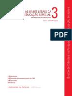 3° As bases legais da educação especial, um panorâma internacional