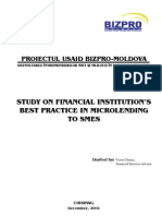 Study on Financial Institutions Rom