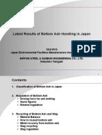 Nobuhiro Tanigaki Latest Results of Bottom Ash Handling in Japan