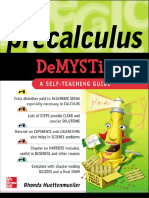 Preview of Pre Calculus Demystified