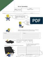 Guia de Aprendizaje Cancion y Su Funcion Social