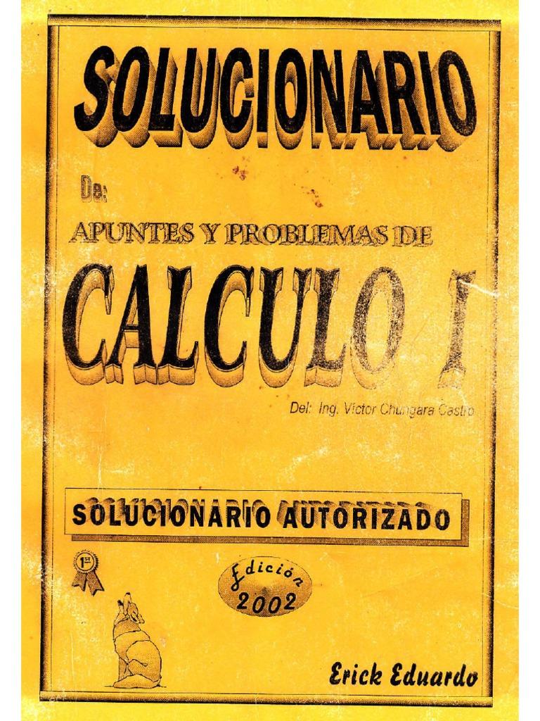 solucionario de calculo 1 de victor chungara