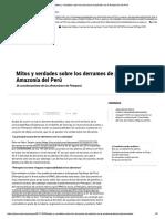 Post_ Mitos y Verdades Sobre Los Derrames de Petróleo en La Amazonía Del Perú