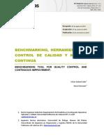 Benchmarking Herramienta de Control de Calidad y Mejora Continua