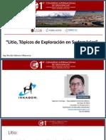 Presentacion_Litio_Tópicos de Exploración en Sudamérica