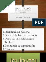 Capacitación Salud Ocupacional1.1 2017