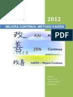 Mejora continua metodo kaizen