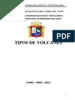 Tipos de Volcanes y Erupciones Volcanicas
