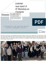 Diabetes and Periodontal Relatioship Europa y America Workshop