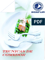 Libro Tecnicas de Comedor