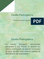 Gestão participátiva