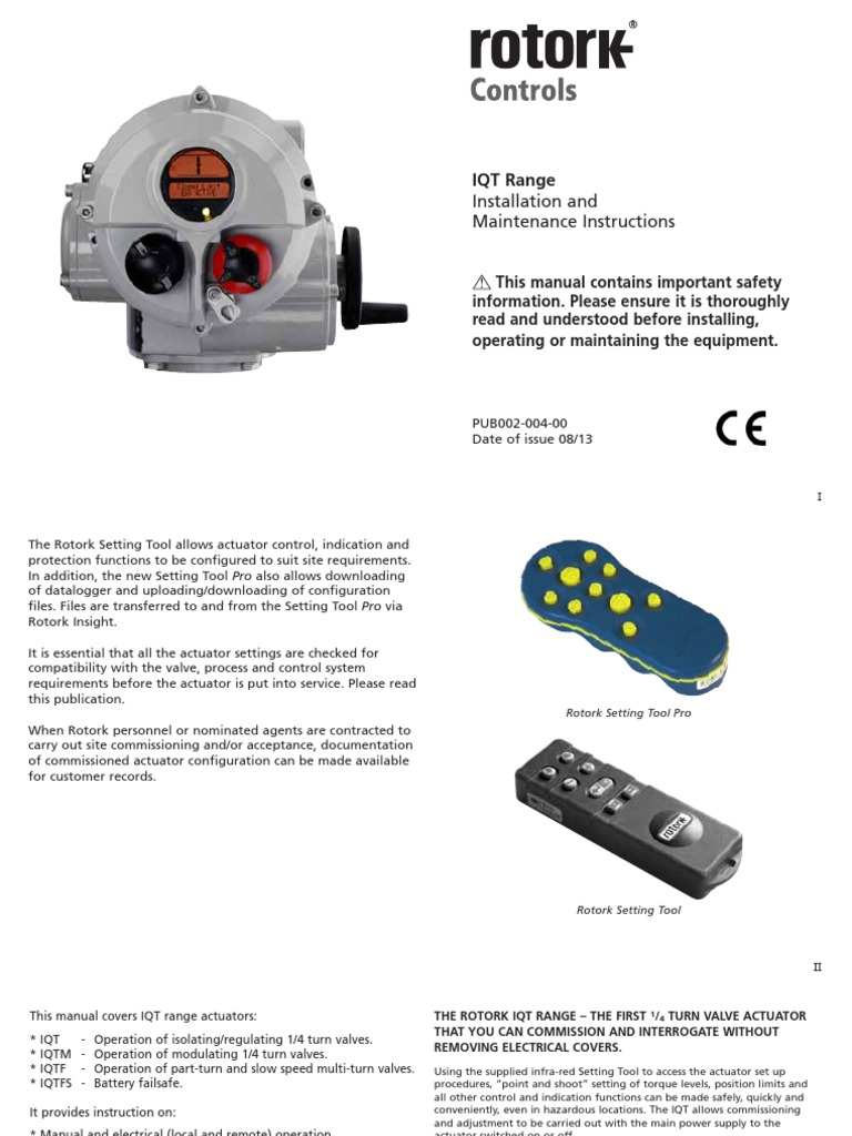 pub002 004 00_0813 screw thermostatRotork Motorised Valve Wiring Diagram Motorised Valve Wiring Diagram #21