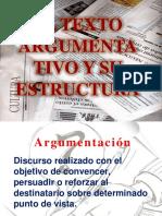 El Texto Argumentativo y Su Estructura