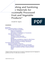 (2009) Washing and Sanitizing Raw Materials for Minimally Processed Fruit and Vegetable Products - G.sapers