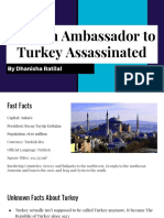 russian ambassador to turkey assassinated  1
