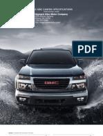 2010 Gmc Canyon  Brochure Heyward Allen Motor Company Atlanta, GA