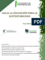 EDUCACIÓN SUPERIOR Y SUSTENTABILIDAD