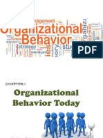 Chapter 1 - Organizational Behavior Today