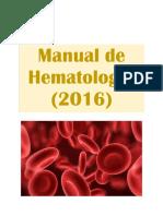 Manual de Hematologi a 2016 vs 2.PDF