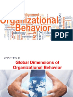 Chapter 3 - Global Dimensions of Organizational Behavior