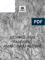 Hse - Storing and Handling Ammonium Nitrate