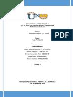 Informe Laborotorio2 Fisica Electronica