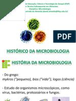 1 História Da Microbiologia