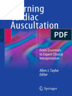 Learning Cardiac Auscultation by Taylor and Springer From Am Medicalbooks