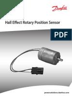 Sauer-Danfoss Mcx103b d Rotary Position Sensor Technical