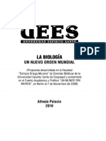 La Biologia, Nuevo Orden Mundial.